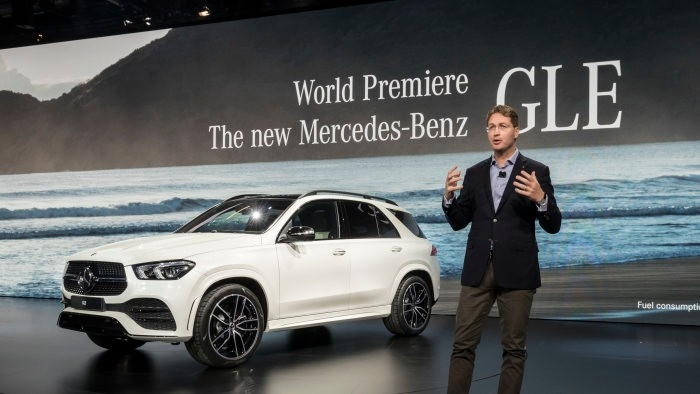 The new Mercedes-Benz GLE, presented by Ola Källenius, Member of the Board of Management Daimler AG