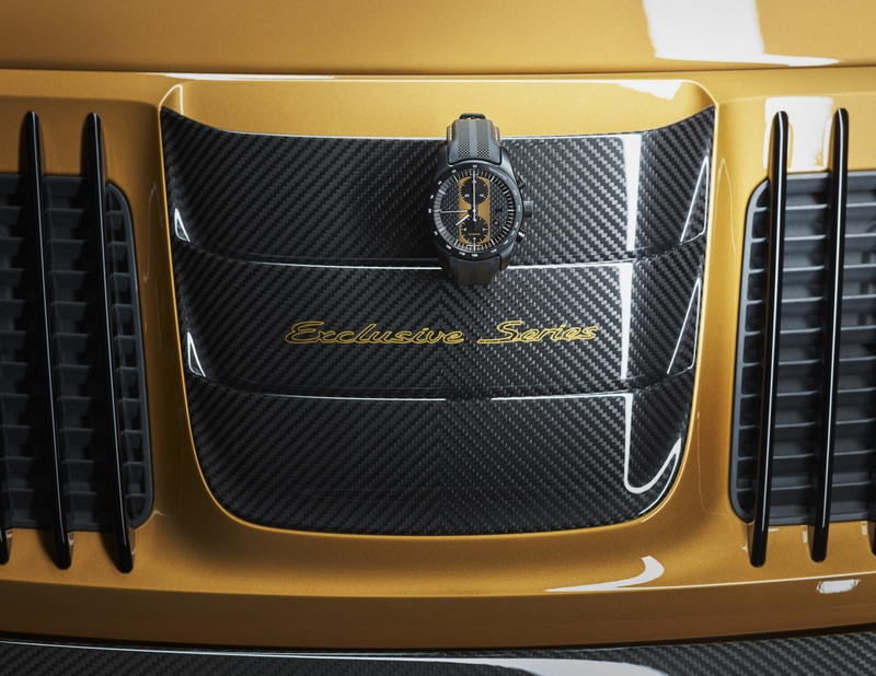 The new Porsche 911 Turbos Exclusive Series - luxury accessories