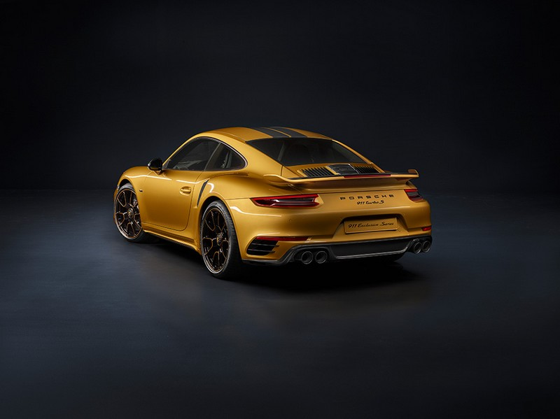 The new Porsche 911 Turbos Exclusive Series - rear lateral
