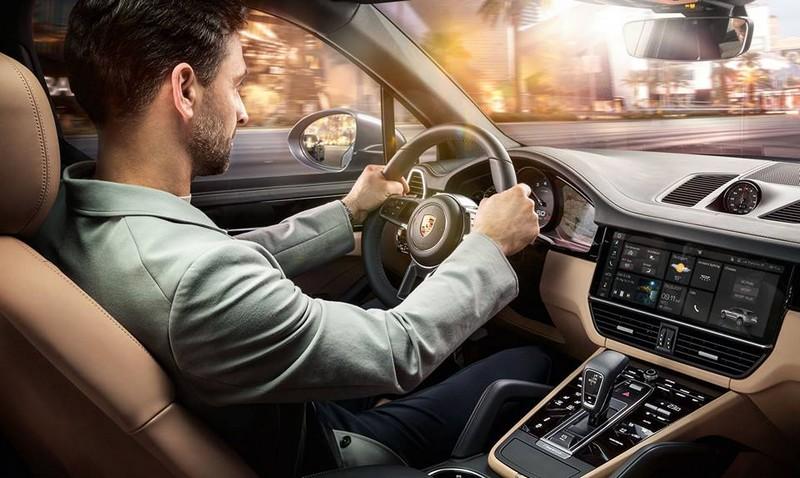 The new Porsche Cayenne2017-01