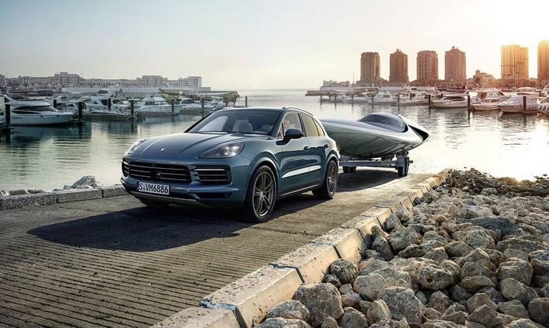 The new Porsche Cayenne2017-02
