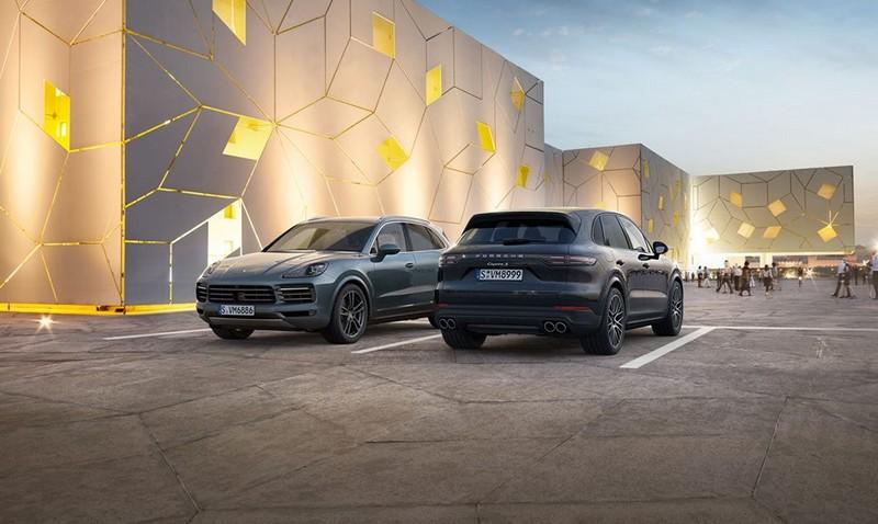 The new Porsche Cayenne2017-05