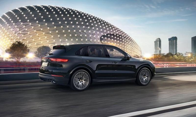 The new Porsche Cayenne2017-06
