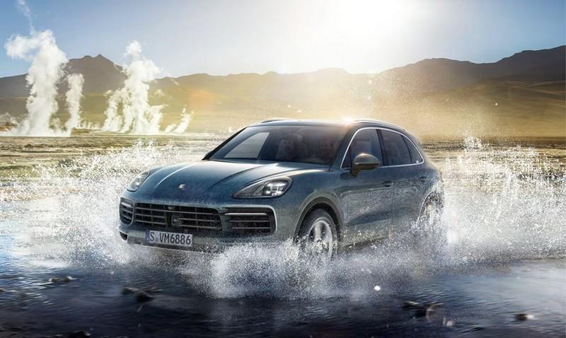 The new Porsche Cayenne2017