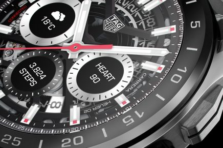 The new TAG Heuer Connected watch packed with sensors is coming with immersive sports experience