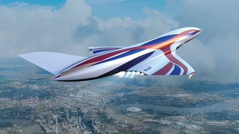 The new hypersonic Sabre engine will allow faster, greener and cheaper air travel