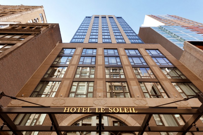 The newly opened Executive Hotel Le Soleil New York recognized as one of the finest hotels in New York-2018-