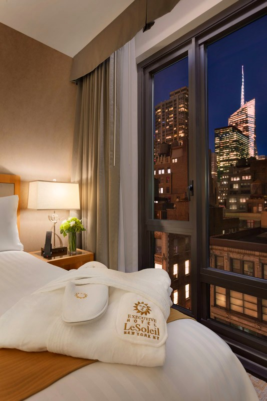 The newly opened Executive Hotel Le Soleil New York recognized as one of the finest hotels in New York-2018-03