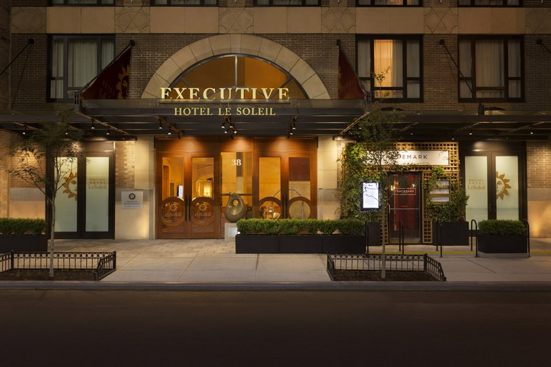 The newly opened Executive Hotel Le Soleil New York recognized as one of the finest hotels in New York-2018-04