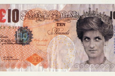Banksy fake banknote artwork joins British Museum collection