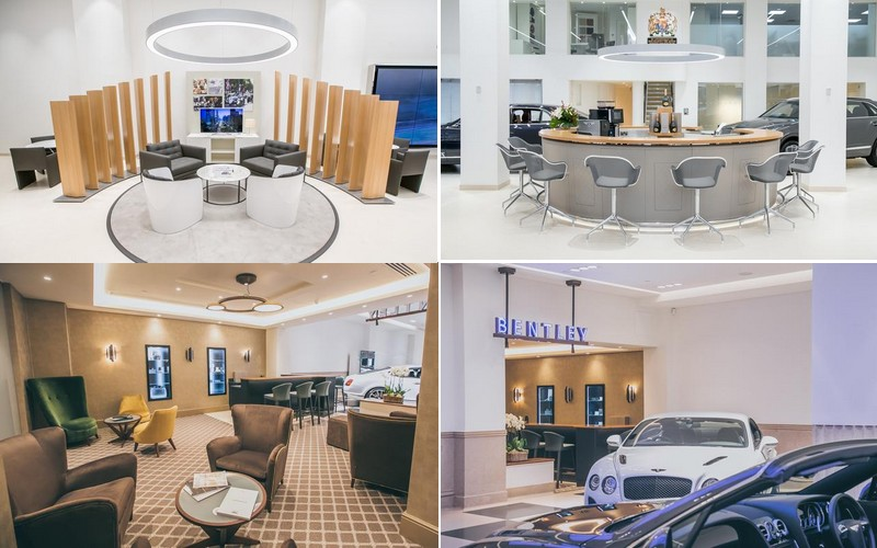 The oldest Bentley dealership in the world unveiled stunning refurbishment