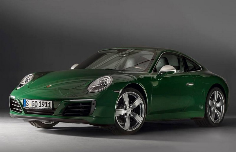 The one-millionth 911 rolled off the production line-