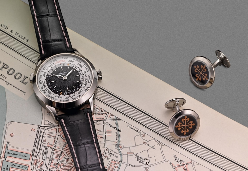 The owners of the Boodles Patek Philippe World Time Special will receive a pair of Patek Philippe cufflinks to match-