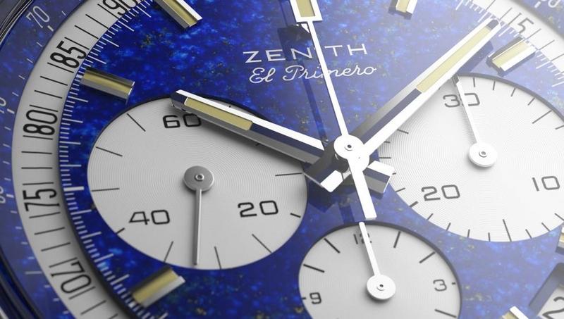 The platinum Zenith El Primero