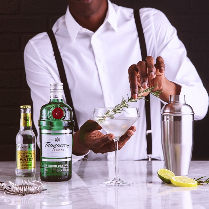 The quality is in the details - Tanqueray