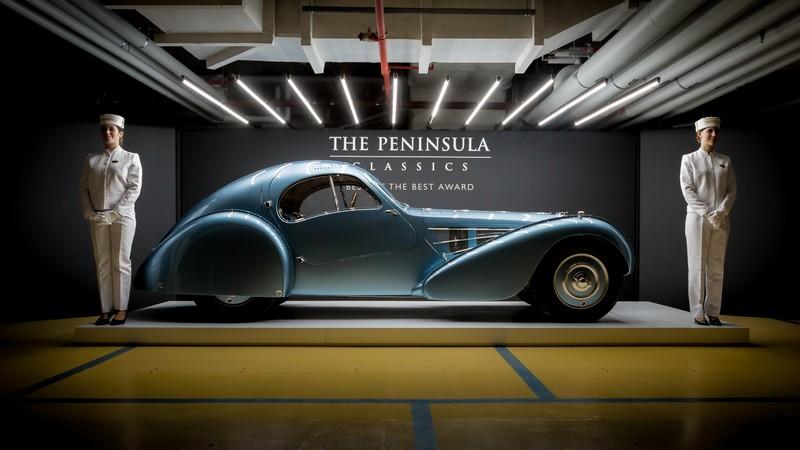 The rare and beautiful 1936 Bugatti Type 57SC Atlantic won The Peninsula Classics Best of the Best Award 2018-