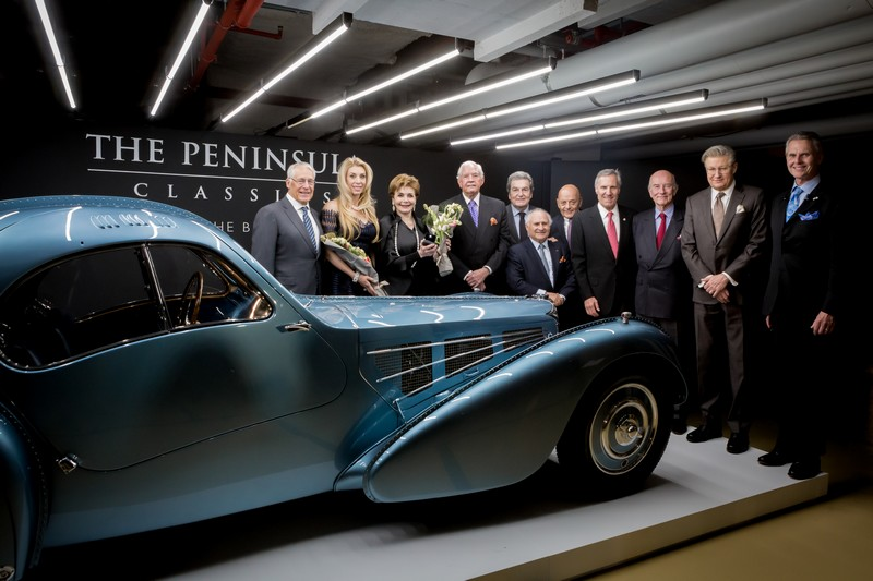 The rare and beautiful 1936 Bugatti Type 57SC Atlantic won The Peninsula Classics Best of the Best Award 2018-gallery