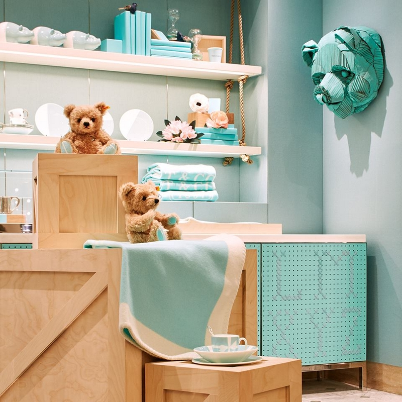 The renovation of the fourth floor atTiffany Fifth Avenue flagship store-