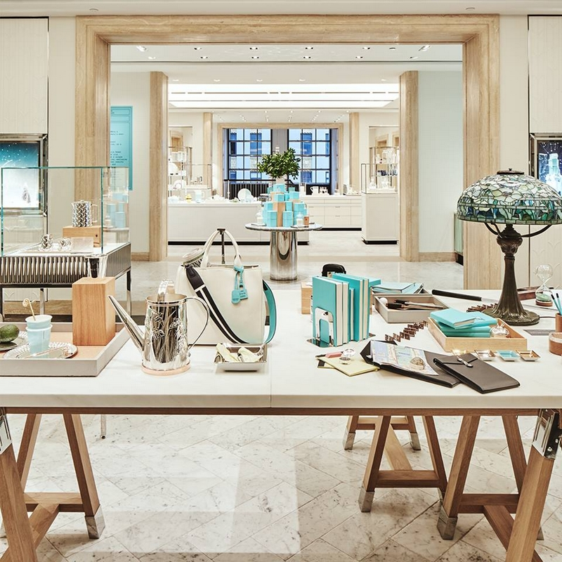 The renovation of the fourth floor atTiffany Fifth Avenue flagship store