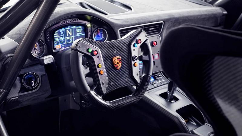 The track-only 690 HP Porsche 935 - cockpit