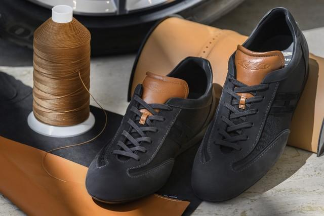 The ultimate Luxury Sneaker Created by Aston Martin and Hogan-