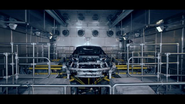 The ultimate progressive sports car in its final testing phase in BMW's Plant Leipzig-