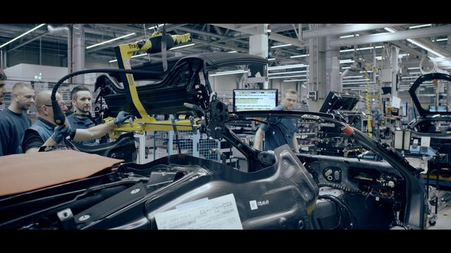 The ultimate progressive sports car in its final testing phase in BMW's Plant Leipzig