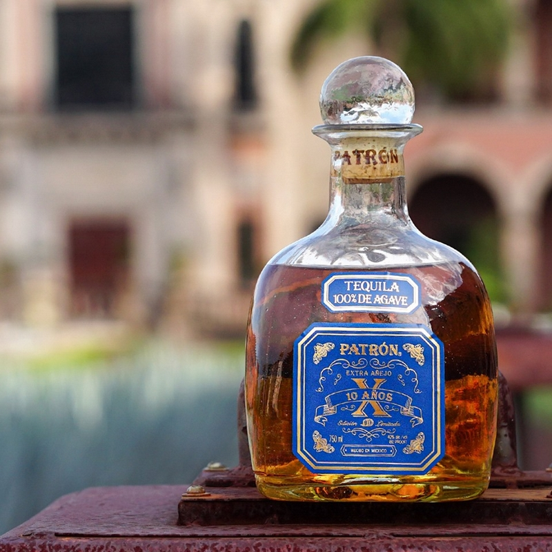 The ultra-rare Patrón Extra Añejo 10 Años is Patron's oldest tequila ever released - 2019
