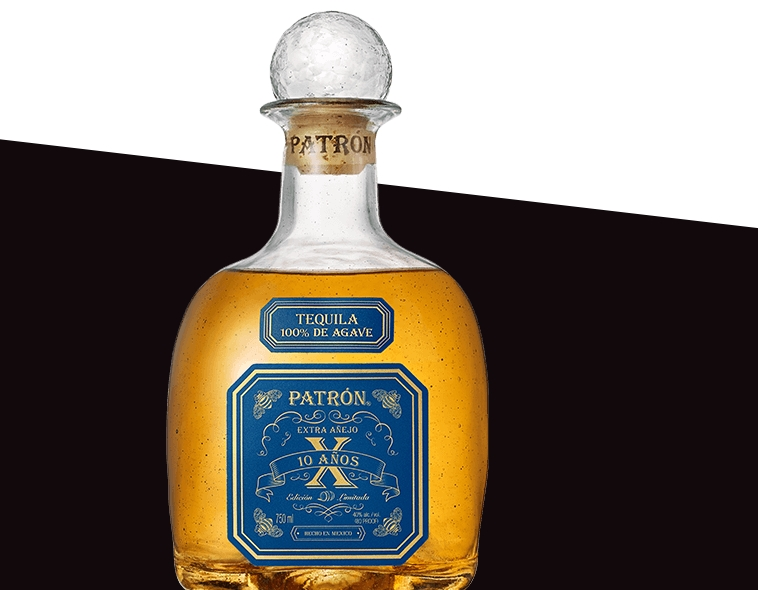 The ultra-rare Patrón Extra Añejo 10 Años is Patron's oldest tequila ever released