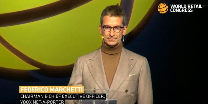 The vision for the future of luxury retail according to Yoox Net-A-Porter Group Chairman and CEO, Federico Marchetti