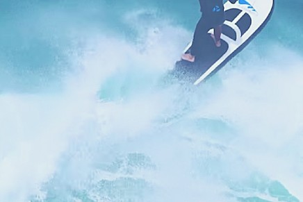 Maintaining the speed while keeping the environment safe. The world's fastest electric surfboard
