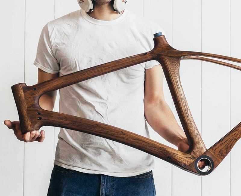 The world's first bicycles made from whisky casks-gallery-the frame