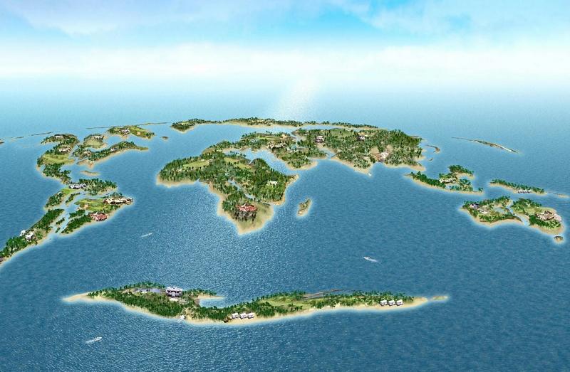 The world Dubai islands