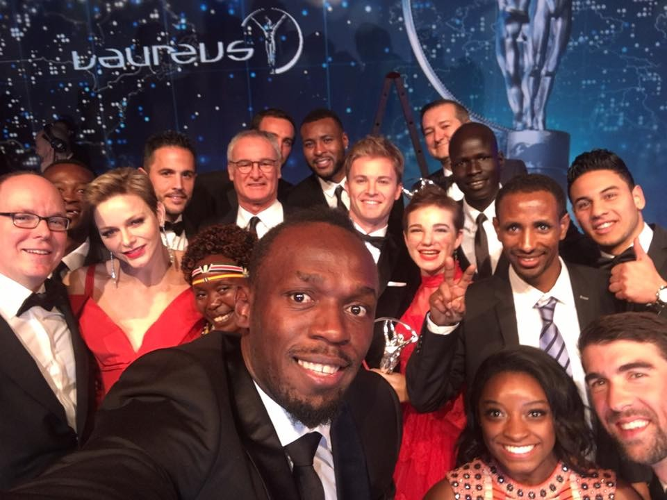 The world's greatest sporting selfie