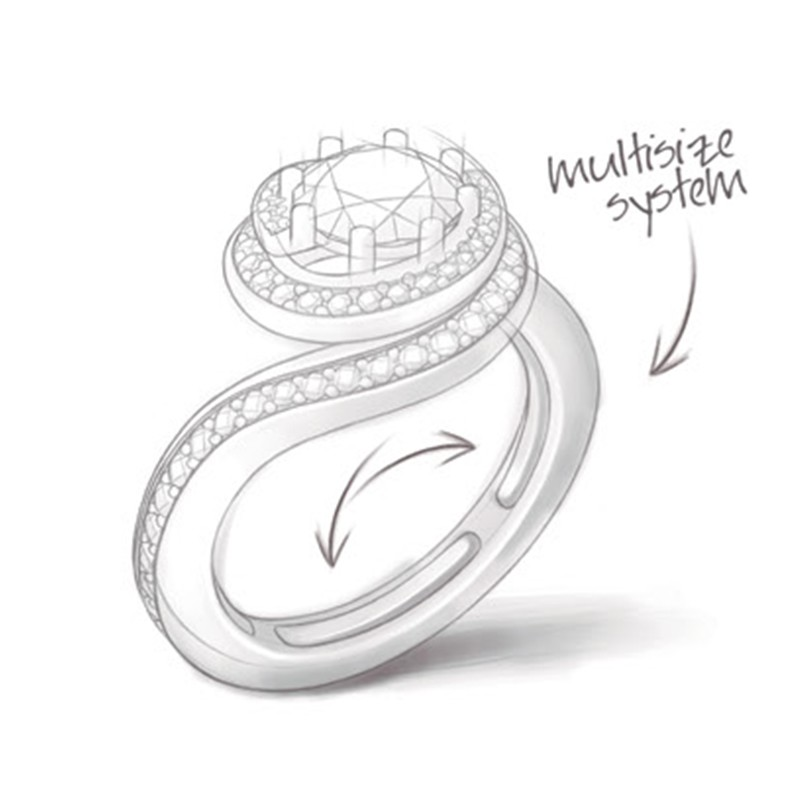These Solitaire rings last forever