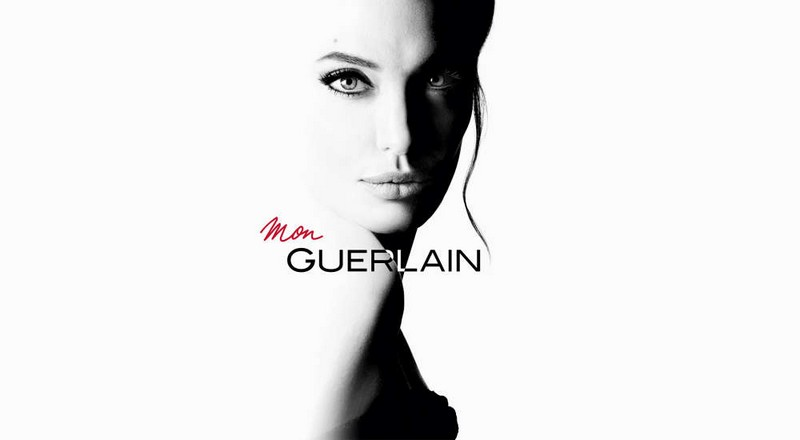 Thierry Wasser and Angelina Jolie for Mon Guerlain