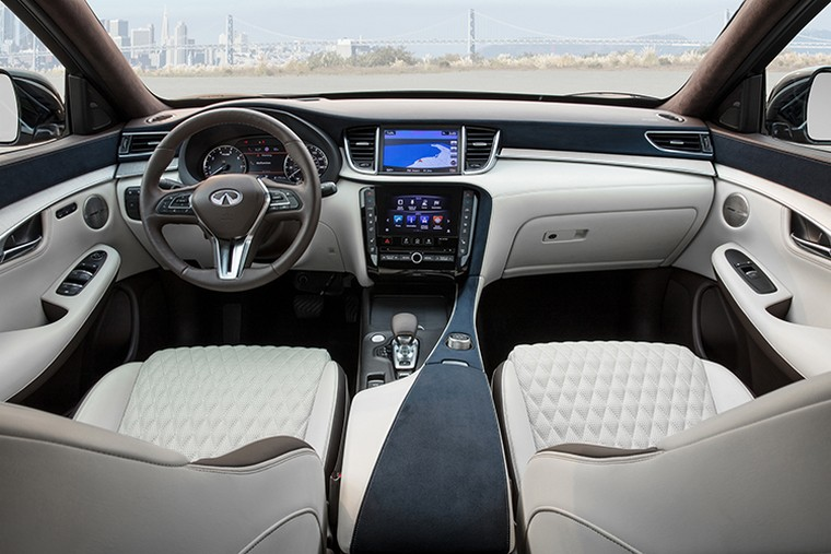 This 2019 Infiniti QX50 is available with the Autograph package-