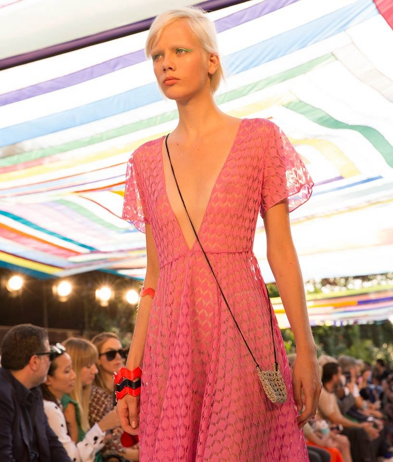 This hot pink dress from Missoni Summer 2018 has all the markings of an instant hit