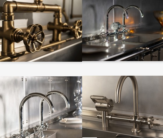 This season, Officine Gullo presented a new collection of KITCHEN TAPS.