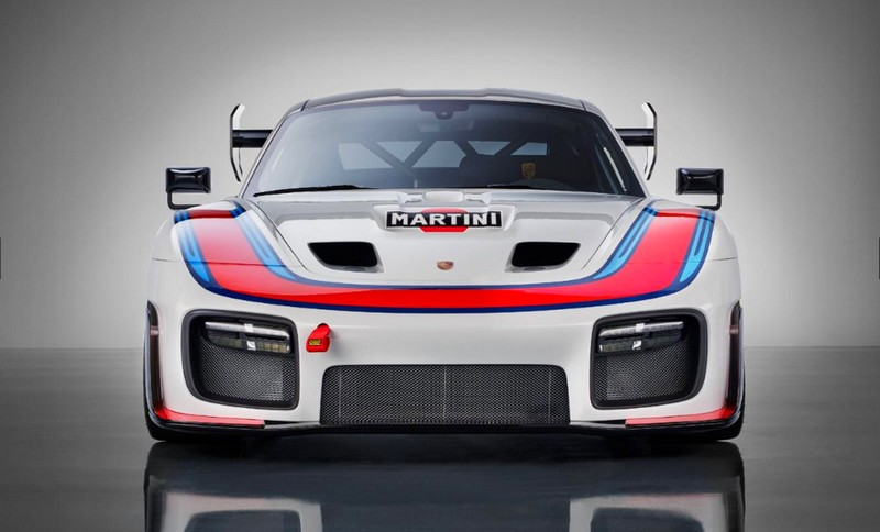 This spectacular car is a birthday present from Porsche Motorsport to fans all over the world