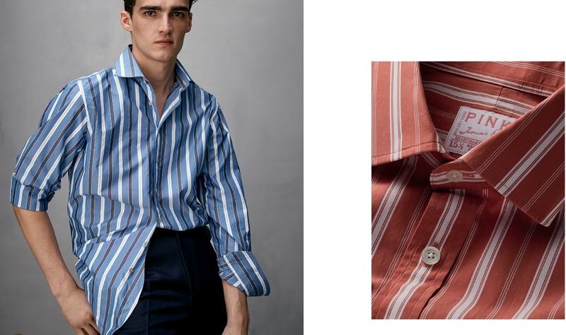 Thomas Pink is adopting a new name – Pink Shirtmaker London-