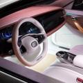 Thunder Power EV Electric Sedan IAA 2015-interior car