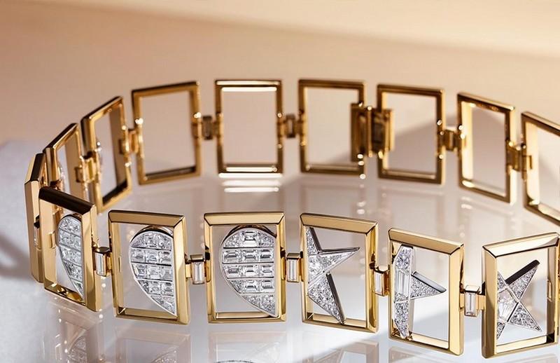 Tiffany Jewel Box 2019 - 18k gold and platinum choker