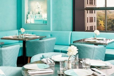 Blue Box Cafe: You too can now have breakfast at Tiffany's