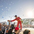 Time to Celebrate for the fantastic victory of Lucas Di Grassi and his team at the Formula E Long Beach e-Prix