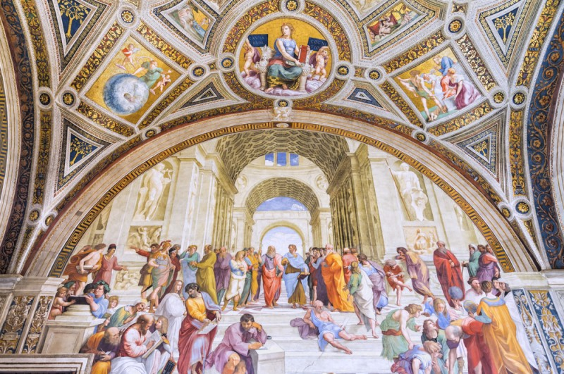 Tips for visiting the Vatican Museums the complete guide -guida-musei-vaticani-scuola-atene
