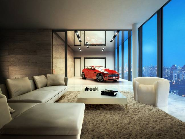 Tips to Buy a Studio Flat - in space auto-parking