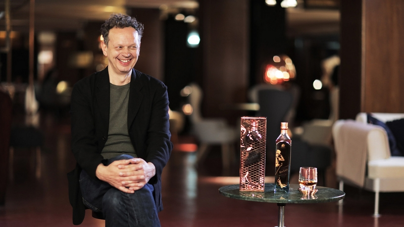 Tom Dixon unveiled The Johnnie Walker Blue Label Capsule Series by Tom Dixon at theTeatro Manzoni at Milan Design Week