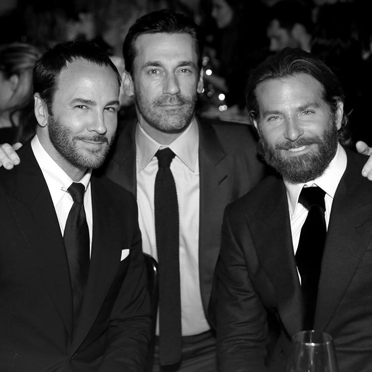 Tom Ford, Jon Hamm and Bradley Cooper