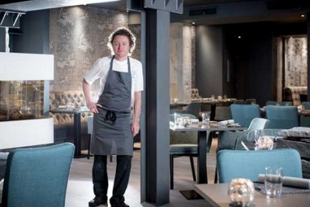Tom Kitchin's 'from nature to plate' pop-up restaurant in London